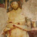 Santuario della Madonna di Filetta affresco del Cristo