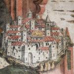 Santuario dell'Icona Passatora affresco della città di Amatrice