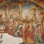Santuario dell'Icona Passatora affresco della crocifissione