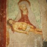 Santuario della Madonna di Filetta affresco della deposizione
