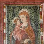 Santuario dell'Icona Passatora affresco della Madonna con bambino 1