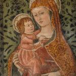 Santuario dell'Icona Passatora affresco della Madonna con bambino