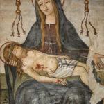 Santuario dell'Icona Passatora affresco della Madonna con Cristo morto