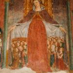 Santuario dell'Icona Passatora affresco della Madonna della Misericordia