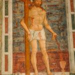 Santuario dell'Icona Passatora affresco di Gesù