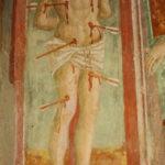Santuario della Madonna di Filetta affresco di San Sebastiano 2