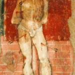 Santuario della Madonna di Filetta affresco di San Sebastiano