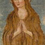 Santuario della Madonna di Filetta affresco di Santa Maria Maddalena
