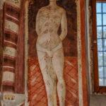 Museo Civico Cola Filotesio affresco di San Sebastiano