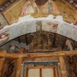 Museo Civico Cola Filotesio arco con affreschi
