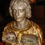 Museo Civico Cola Filotesio busto reliquiario sec. XVIII