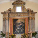 chiesa di san benedetto panoramica dipinto madonna del rosario