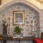 chiesa di san benedetto particolare dipinto sacro cuore