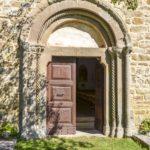 Chiesa di San Martino facciata romanica e portale