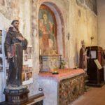 Chiesa di San Martino statue e affresco