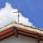 Chiesa di Santa Savina croce sul tetto