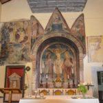 Chiesa di Santa Savina altare maggiore