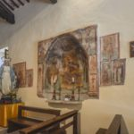 Chiesa di Santa Savina affresco parete destra