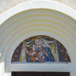 Chiesa Madonna del Carmelo lunetta esterna