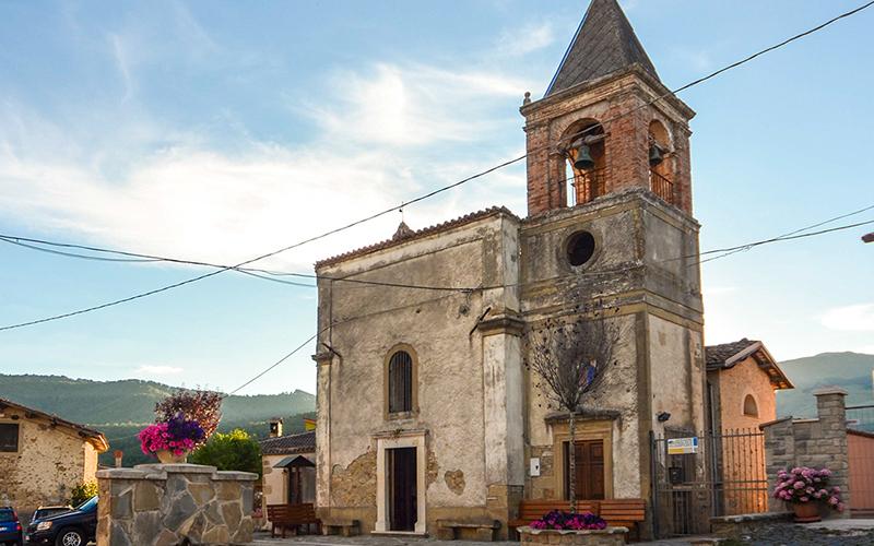 Chiesa Madonna della Mercede Colle Gentilesco