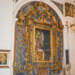 Chiesa Madonna delle Grazie cornice con tela