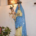 Chiesa Madonna delle Grazie statua Madonna col bambino