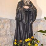 chiesa san benedetto particolare statua del santo