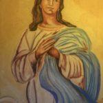 Chiesa Santa Maria Assunta dettaglio dipinto