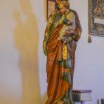 Chiesa Santa Maria Assunta statua San Giuseppe e bambino