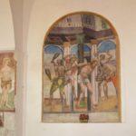 Chiesa Santa Maria della Torre affresco folgorazione