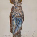 Chiesa Santa Maria della Torre statua bronzea Madonna col bambino