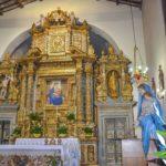 Chiesa di Santa Maria delle Grazie affresco con cornice