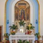 Chiesa Santa Maria Liberatrice altare e trittico