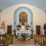 Chiesa Santa Maria Liberatrice interno navata e altare