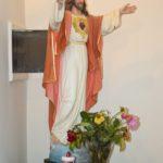 Chiesa Santa Maria Lberatrice statua sacro cuore