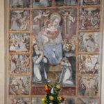 Chiesa di Sant'Antonio Abate particolare affresco ciclo di affreschi