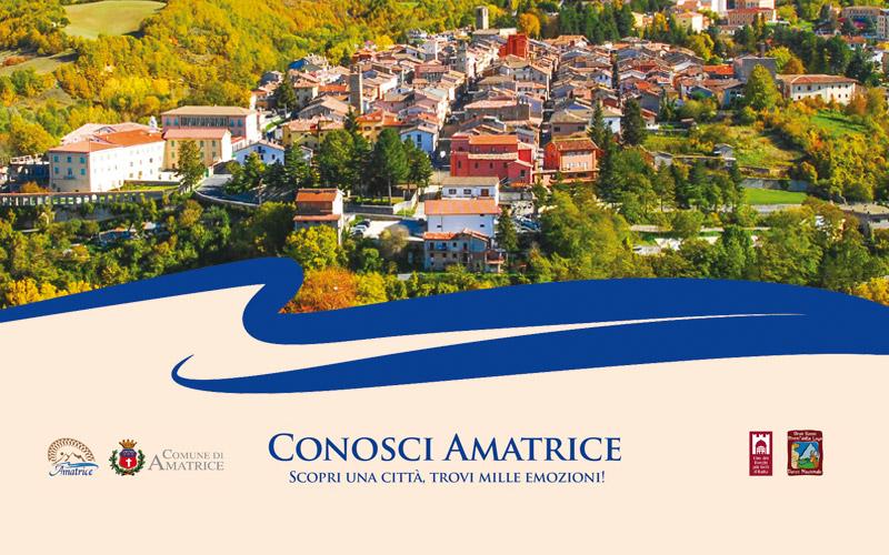 Brochure turistica di Amatrice