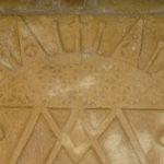Santuario dell'Icona Passatora dettaglio bassorilievo