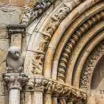 Chiesa di Sant'Agostino dettaglio portale