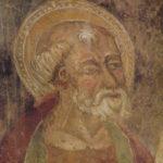 Chiesa di Sant'Antonio Abate dettaglio affresc