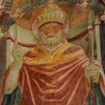 Santuario della Madonna di Filetta affresco dettaglio 2