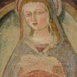 Santuario della Madonna di Filetta affresco dettaglio