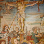Santuario dell'Icona Passatora dettaglio affresco crocifissione