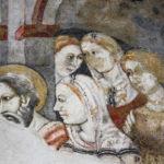 Museo Civico Cola Filotesio dettaglio affreschi storie della vergine 2