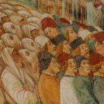 Santuario della Madonna di Filetta dettaglio dell'affresco