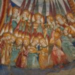 Santuario della Madonna di Filetta dettaglio affresco