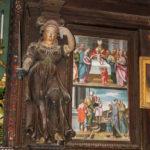 Santuario della Madonna delle Grazie dettaglio interno 4