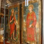 Museo Civico Cola Filotesio dipinti di San Giovanni Battista e San Lorenzo sec. XVI