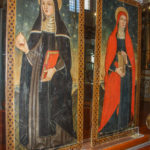 Museo Civico Cola Filotesio dipinti di Santa scolastica e Sant'Anna sec. XVI