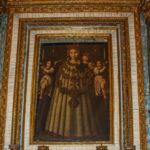 Chiesa Immacolata Concezione dipinto con candelabri